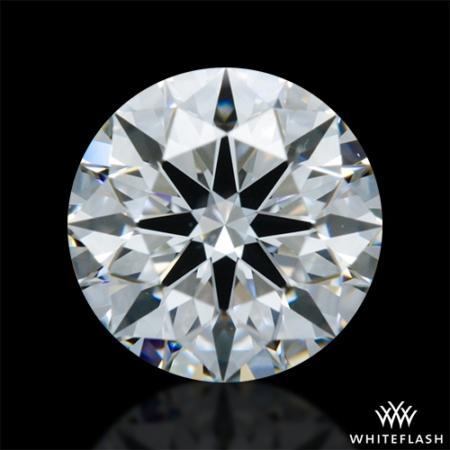 0.718 ct F VVS2 A CUT ABOVE® Hearts and Arrows Super Ideal Round Cut Loose Diamond