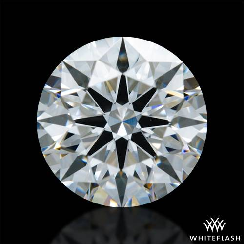 0.71 ct F VVS2 A CUT ABOVE® Hearts and Arrows Super Ideal Round Cut Loose Diamond