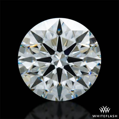 0.606 ct I VS2 A CUT ABOVE® Hearts and Arrows Super Ideal Round Cut Loose Diamond