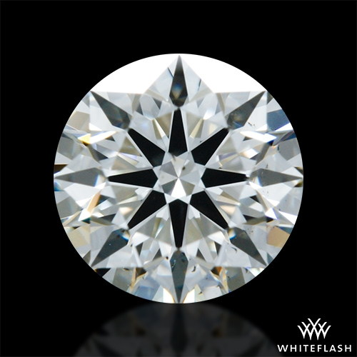 0.624 ct J SI1 A CUT ABOVE® Hearts and Arrows Super Ideal Round Cut Loose Diamond