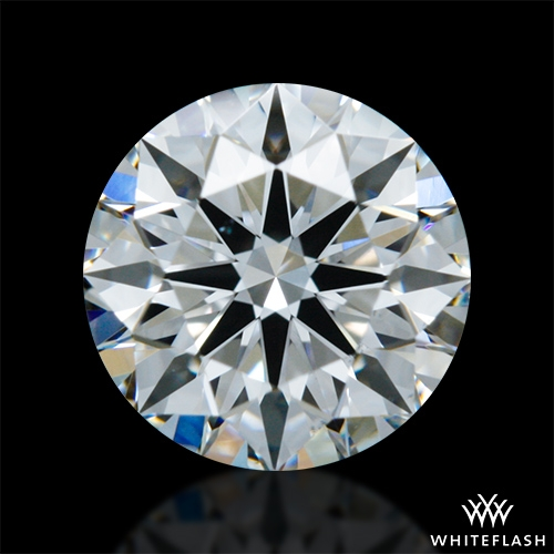 0.711 ct F VS2 A CUT ABOVE® Hearts and Arrows Super Ideal Round Cut Loose Diamond