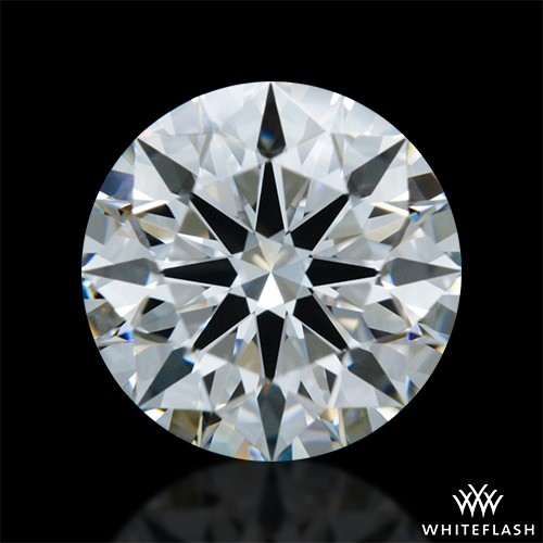 1.063 ct F VVS2 A CUT ABOVE® Hearts and Arrows Super Ideal Round Cut Loose Diamond