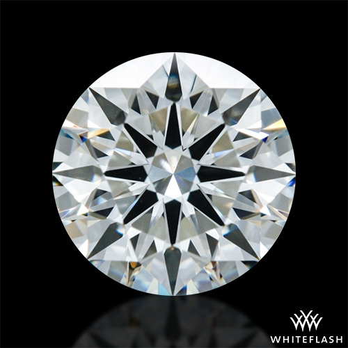 0.787 ct I VS1 A CUT ABOVE® Hearts and Arrows Super Ideal Round Cut Loose Diamond