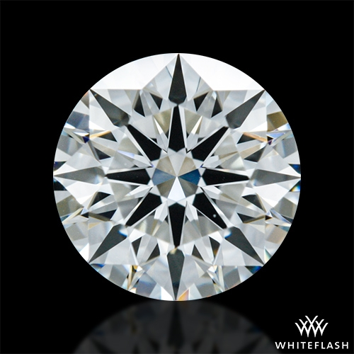 0.712 ct H VS1 A CUT ABOVE® Hearts and Arrows Super Ideal Round Cut Loose Diamond