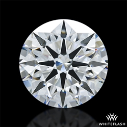 3.366 ct F VS2 A CUT ABOVE® Hearts and Arrows Super Ideal Round Cut Loose Diamond