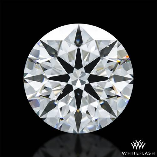 3.237 ct H VS2 A CUT ABOVE® Hearts and Arrows Super Ideal Round Cut Loose Diamond