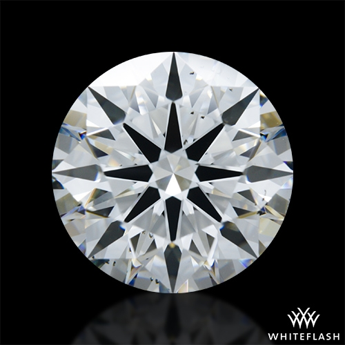 2.942 ct H VS2 A CUT ABOVE® Hearts and Arrows Super Ideal Round Cut Loose Diamond