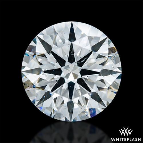 1.838 ct I SI1 A CUT ABOVE® Hearts and Arrows Super Ideal Round Cut Loose Diamond