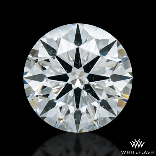 1.414 ct I SI1 A CUT ABOVE® Hearts and Arrows Super Ideal Round Cut Loose Diamond