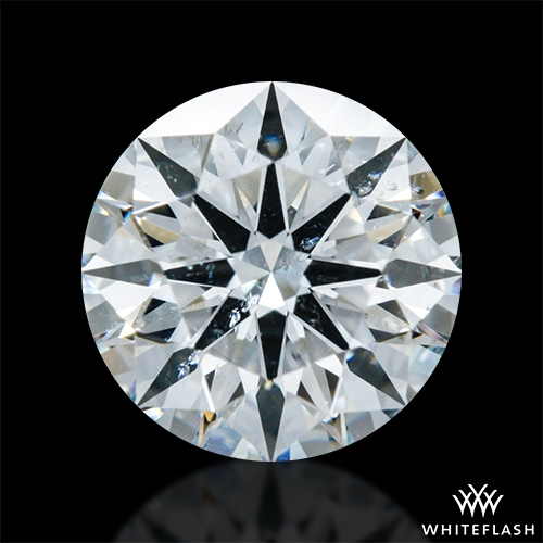 1.403 ct H SI2 A CUT ABOVE® Hearts and Arrows Super Ideal Round Cut Loose Diamond