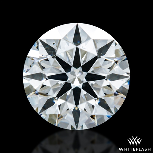 0.704 ct F VS2 A CUT ABOVE® Hearts and Arrows Super Ideal Round Cut Loose Diamond
