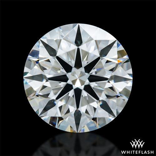 0.704 ct H VS1 A CUT ABOVE® Hearts and Arrows Super Ideal Round Cut Loose Diamond