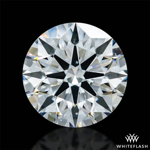 0.802 ct G SI1 A CUT ABOVE® Hearts and Arrows Super Ideal Round Cut Loose Diamond
