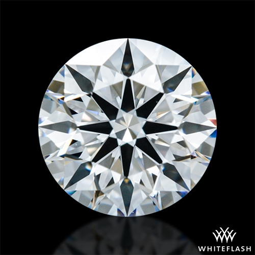 0.803 ct F VVS2 A CUT ABOVE® Hearts and Arrows Super Ideal Round Cut Loose Diamond