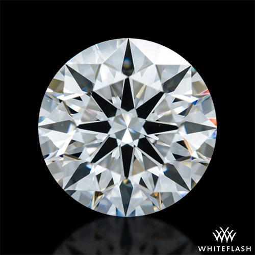 0.83 ct F VVS1 A CUT ABOVE® Hearts and Arrows Super Ideal Round Cut Loose Diamond