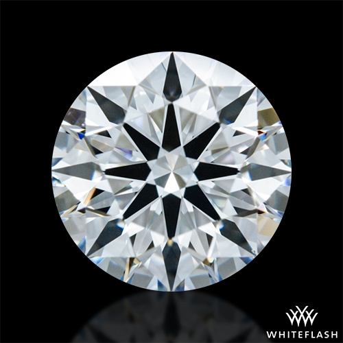 0.813 ct E VS1 A CUT ABOVE® Hearts and Arrows Super Ideal Round Cut Loose Diamond