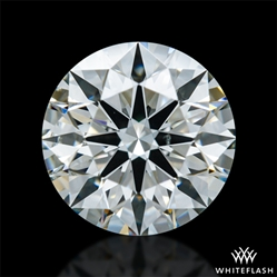 0.826 ct I SI1 A CUT ABOVE® Hearts and Arrows Super Ideal Round Cut Loose Diamond