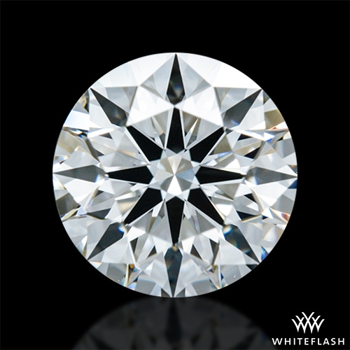 0.901 ct G VS1 A CUT ABOVE® Hearts and Arrows Super Ideal Round Cut Loose Diamond