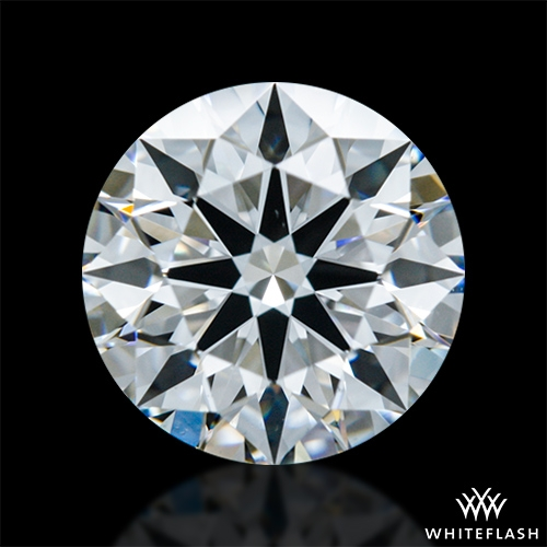 0.928 ct E VS1 A CUT ABOVE® Hearts and Arrows Super Ideal Round Cut Loose Diamond