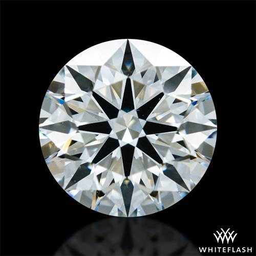 0.63 ct I VS2 A CUT ABOVE® Hearts and Arrows Super Ideal Round Cut Loose Diamond
