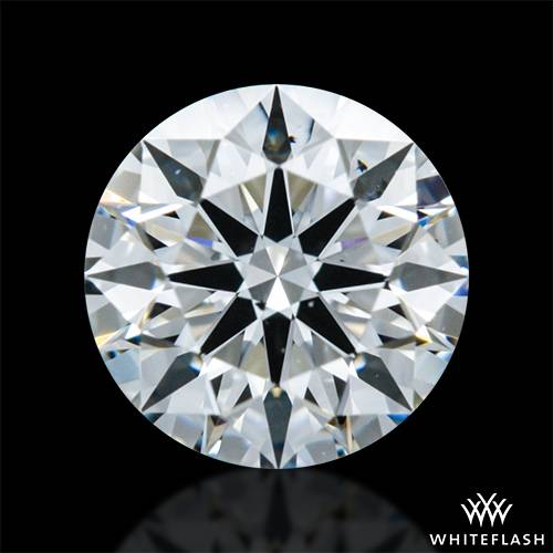 0.521 ct F SI1 A CUT ABOVE® Hearts and Arrows Super Ideal Round Cut Loose Diamond