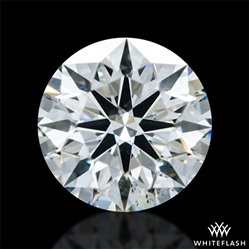 0.538 ct F VS2 A CUT ABOVE® Hearts and Arrows Super Ideal Round Cut Loose Diamond