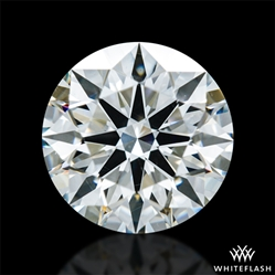 1.256 ct J VS2 A CUT ABOVE® Hearts and Arrows Super Ideal Round Cut Loose Diamond