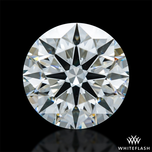 1.301 ct I SI1 A CUT ABOVE® Hearts and Arrows Super Ideal Round Cut Loose Diamond