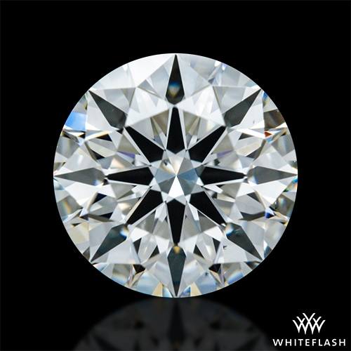 1.015 ct H VS2 A CUT ABOVE® Hearts and Arrows Super Ideal Round Cut Loose Diamond