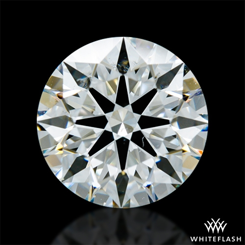 1.614 ct H SI1 A CUT ABOVE® Hearts and Arrows Super Ideal Round Cut Loose Diamond