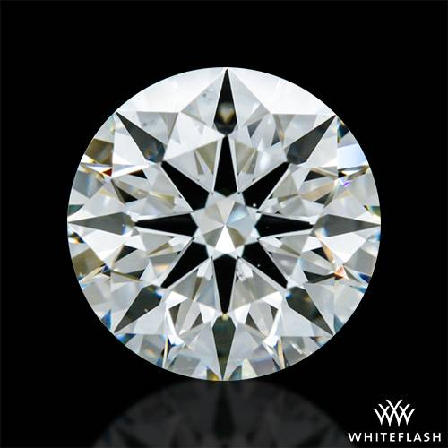1.052 ct J SI1 A CUT ABOVE® Hearts and Arrows Super Ideal Round Cut Loose Diamond