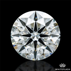 0.507 ct I VS2 A CUT ABOVE® Hearts and Arrows Super Ideal Round Cut Loose Diamond