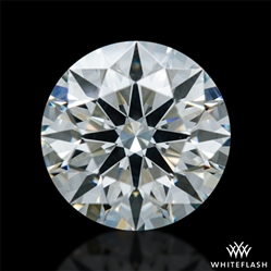 0.566 ct I SI1 A CUT ABOVE® Hearts and Arrows Super Ideal Round Cut Loose Diamond