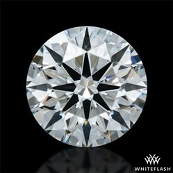 0.561 ct I VS2 A CUT ABOVE® Hearts and Arrows Super Ideal Round Cut Loose Diamond