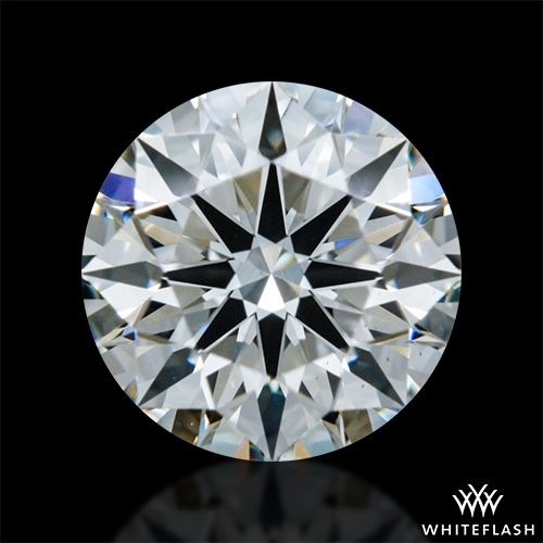 0.587 ct I VS1 A CUT ABOVE® Hearts and Arrows Super Ideal Round Cut Loose Diamond