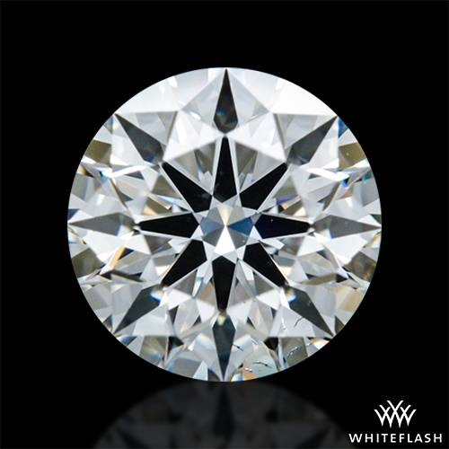 0.608 ct H VS2 A CUT ABOVE® Hearts and Arrows Super Ideal Round Cut Loose Diamond
