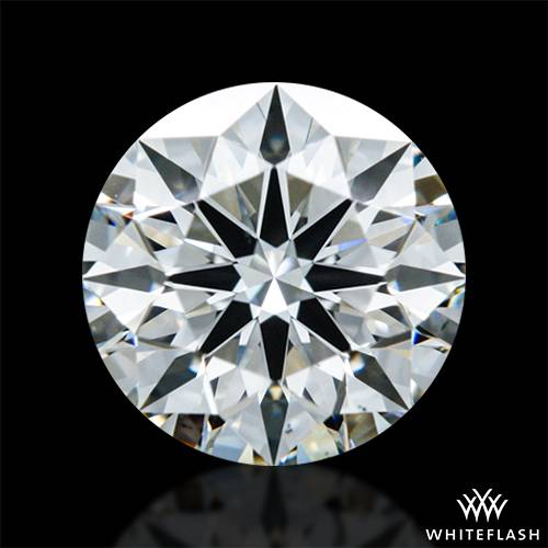 0.632 ct I VS1 A CUT ABOVE® Hearts and Arrows Super Ideal Round Cut Loose Diamond
