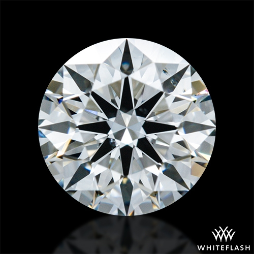 0.831 ct G SI1 A CUT ABOVE® Hearts and Arrows Super Ideal Round Cut Loose Diamond