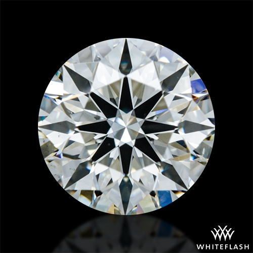 0.875 ct J VS2 A CUT ABOVE® Hearts and Arrows Super Ideal Round Cut Loose Diamond