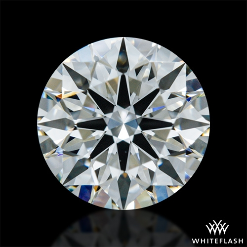 0.878 ct J VS1 A CUT ABOVE® Hearts and Arrows Super Ideal Round Cut Loose Diamond