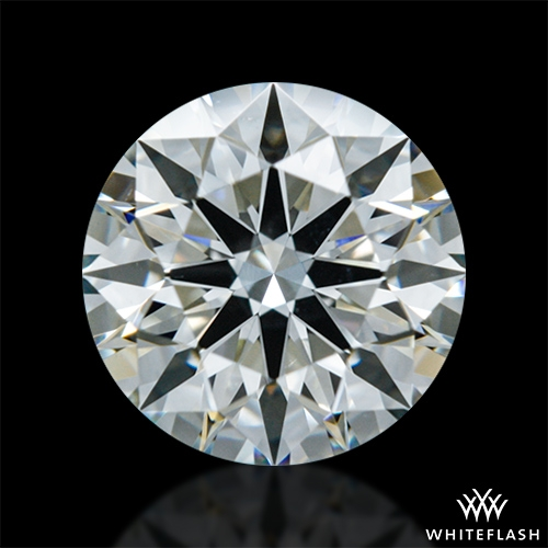 0.892 ct J VS2 A CUT ABOVE® Hearts and Arrows Super Ideal Round Cut Loose Diamond