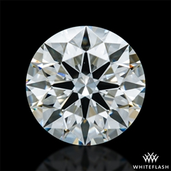 0.921 ct H VS2 A CUT ABOVE® Hearts and Arrows Super Ideal Round Cut Loose Diamond
