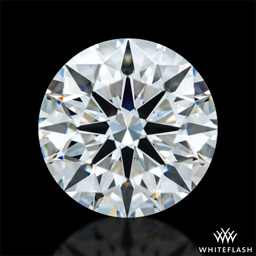 1.341 ct F VS2 A CUT ABOVE® Hearts and Arrows Super Ideal Round Cut Loose Diamond