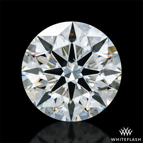 1.432 ct J VS2 A CUT ABOVE® Hearts and Arrows Super Ideal Round Cut Loose Diamond