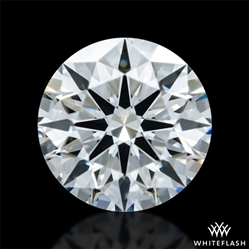 0.318 ct F VVS1 A CUT ABOVE® Hearts and Arrows Super Ideal Round Cut Loose Diamond