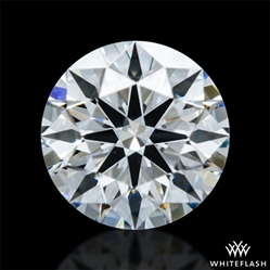 0.405 ct E VVS2 A CUT ABOVE® Hearts and Arrows Super Ideal Round Cut Loose Diamond