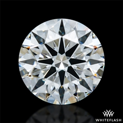 0.407 ct F VVS2 A CUT ABOVE® Hearts and Arrows Super Ideal Round Cut Loose Diamond