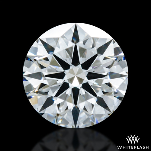 0.408 ct F VVS1 A CUT ABOVE® Hearts and Arrows Super Ideal Round Cut Loose Diamond