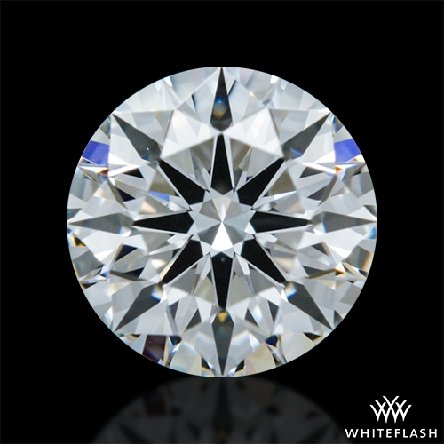 0.528 ct F VVS2 A CUT ABOVE® Hearts and Arrows Super Ideal Round Cut Loose Diamond