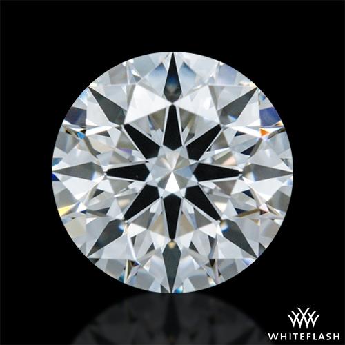 0.591 ct E VS1 A CUT ABOVE® Hearts and Arrows Super Ideal Round Cut Loose Diamond